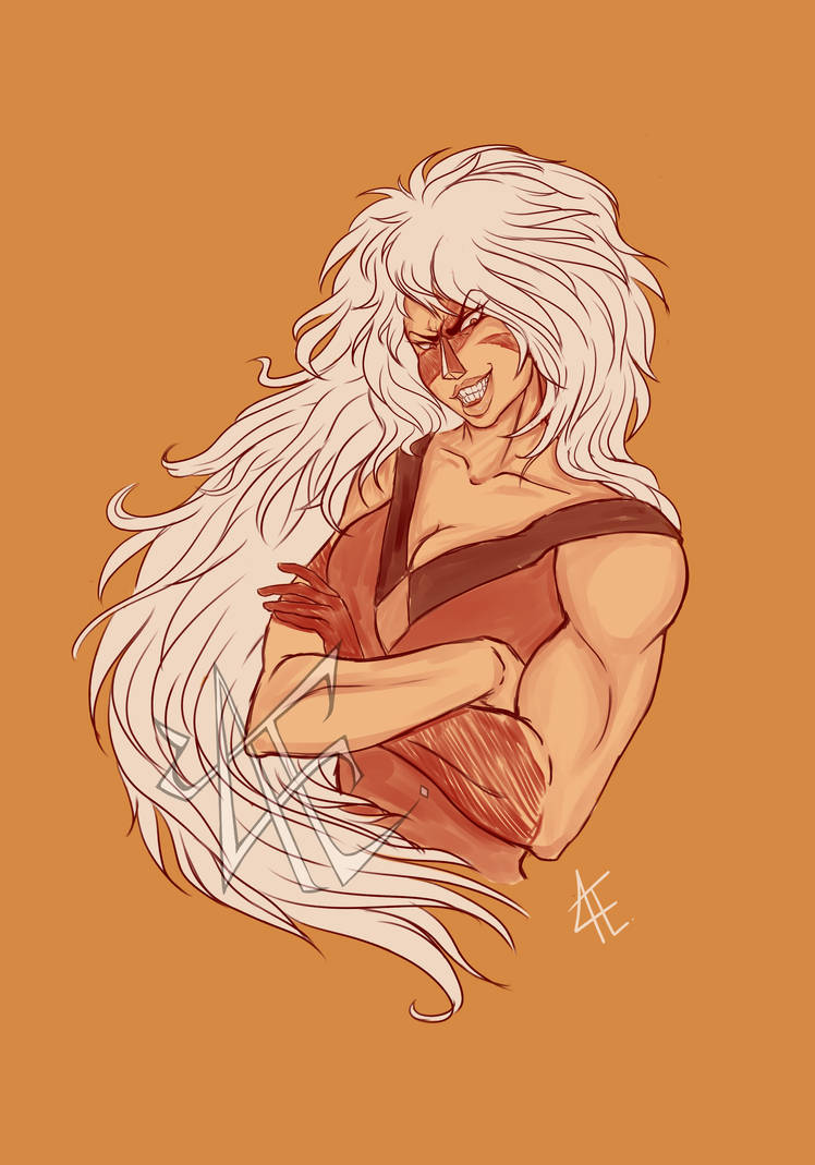 I LOVE STEVEN UNIVERSE!! Jasper isn't my favorite character, but I like drawing muscles so... I'm currently drawing other characters from the show. My goal is to draw everyone! ^^ I plan on refinin...