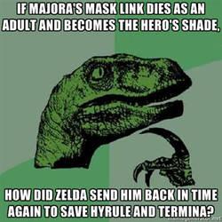 Majora's Memes Contest Entry 1: Philosoraptor by AnonymousGX