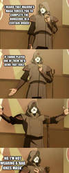Majora's Memes Contest Entry 3: Bad Jokes Amon by AnonymousGX