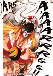 Bleach 350 Ichigo Hollow 2 by Dakura