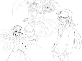 collection sketch by patamy