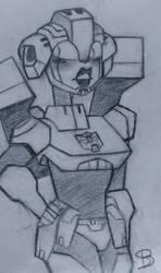 TFA- Arcee sketch by mapleBOOM