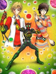 Kamen Rider OOO by GrandZebulon