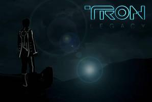 Tron Legacy Quick Poster by ChevronTango