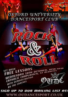OUDC Rock and Roll Poster 2012 by ChevronTango