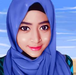 Natasya Farani by laraibafih