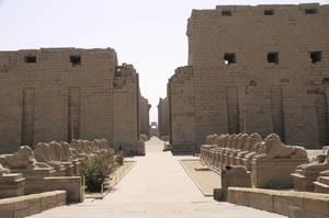 Karnak Temple Entrance by AndySerrano