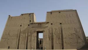 Temple of Horus at Edfu by AndySerrano