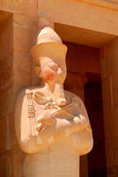 Osirian Statue of Hatshepsut by AndySerrano