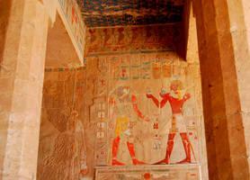 Hatshepsut Hieroglyphics by AndySerrano