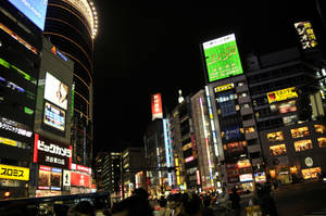 Shibuya Night Lights by AndySerrano