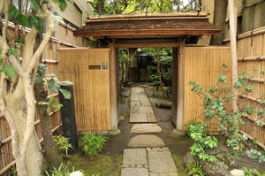 Japanese Home Courtyard by AndySerrano