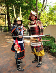 Two Samurai by AndySerrano
