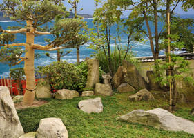 Sea of Japan Zen Garden by AndySerrano