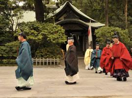 Shinto Procession in Kamakura by AndySerrano