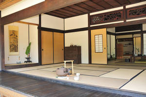Inside Open Door Japanese Teahouse by AndySerrano