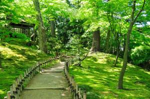 Kenrokuen Japanese Garden 01 by AndySerrano