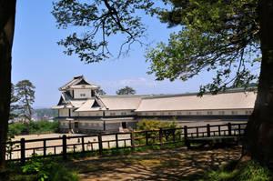 Kanazawa Castle Backside by AndySerrano