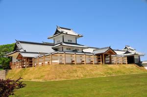 Kanazawa Castle Corner by AndySerrano