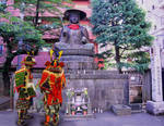 Samurai Honor Buddha in Shinjuku by AndySerrano