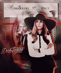Cara Delevigne by AlessiaBoldry