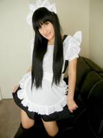 K-On! Mio Maid by RiiCosplay