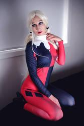 Harley Quinn bodysuit by RiiCosplay