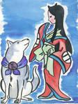 Okami Fan Art: Fuse and Take by Harleydane