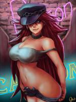 Poison - Final Fight by oNichaN-xD