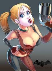 Arkham City - Harley Quinn by oNichaN-xD