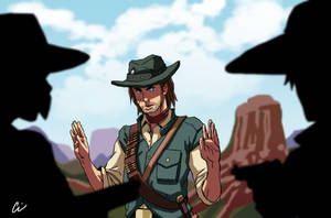 Red Dead Redemtion - Martson by oNichaN-xD