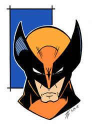 Wolverine Headshot by the-gulapocalypse