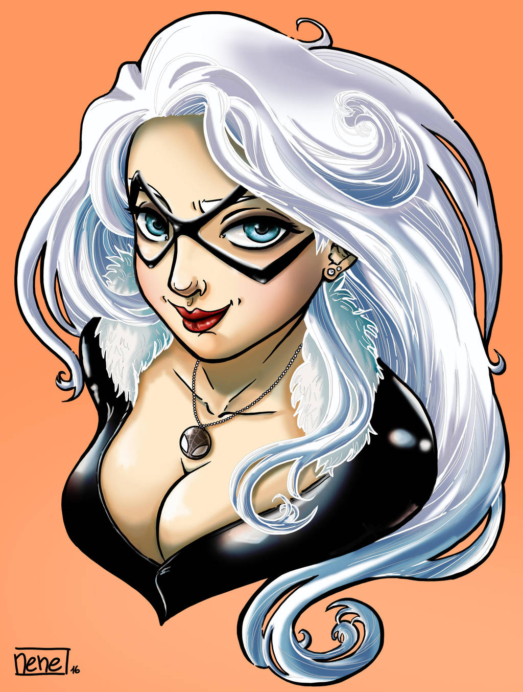 Black Cat-felicia Hardy by not-nene
