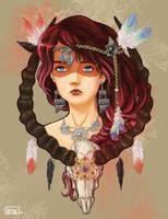 Shaman Girl by not-nene