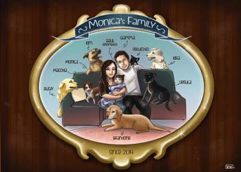 Moni'sfamily by not-nene