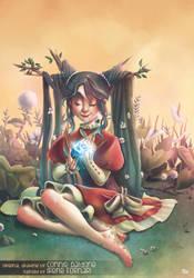 Garden witch by not-nene