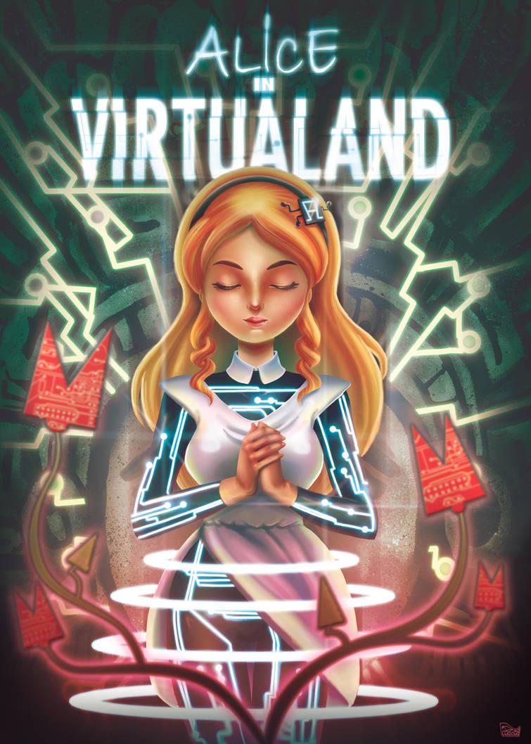 Alice in Virtualand by not-nene