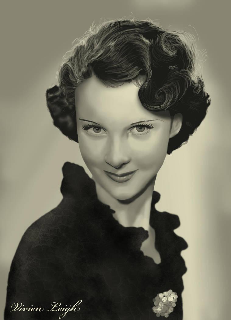 Vivien Leigh by not-nene