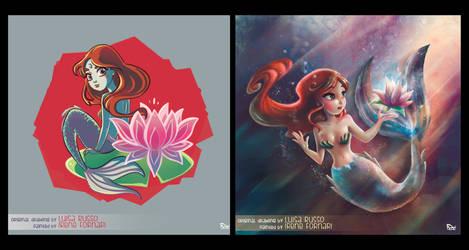 Mermaid by not-nene
