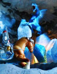Mini Set- Taking on the Dragon by strawberrybabygirl