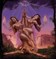 Drakaina's Blood Sisters by rebelakemi