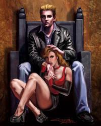 Vampire Master and Slave by rebelakemi