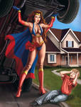 Super Heroine by rebelakemi