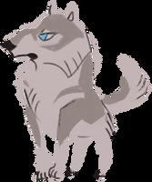 Generic Wolf (free to use) by saltwaterhermit