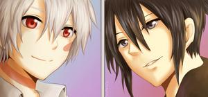 No.6: Nezumi and Shion by MrAmakat