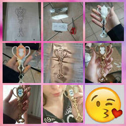 lucy heartfilia's aquarius ' key  by kamira-art-cosplay