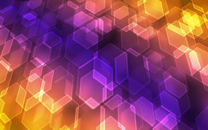 Wallpaper Floating Hex by gormed