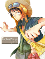 Strong World Luffy Render by MrReltOtaku