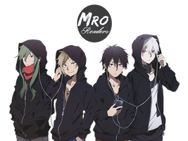 Kagerou Project Render by MrReltOtaku