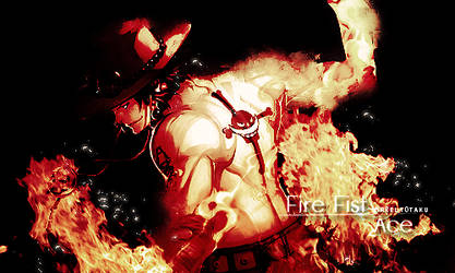 Fire Fist - Ace by MrReltOtaku